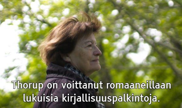 Kirsten Thorup ohjelmasarjassa Kirjat, joilla on merkitystä.